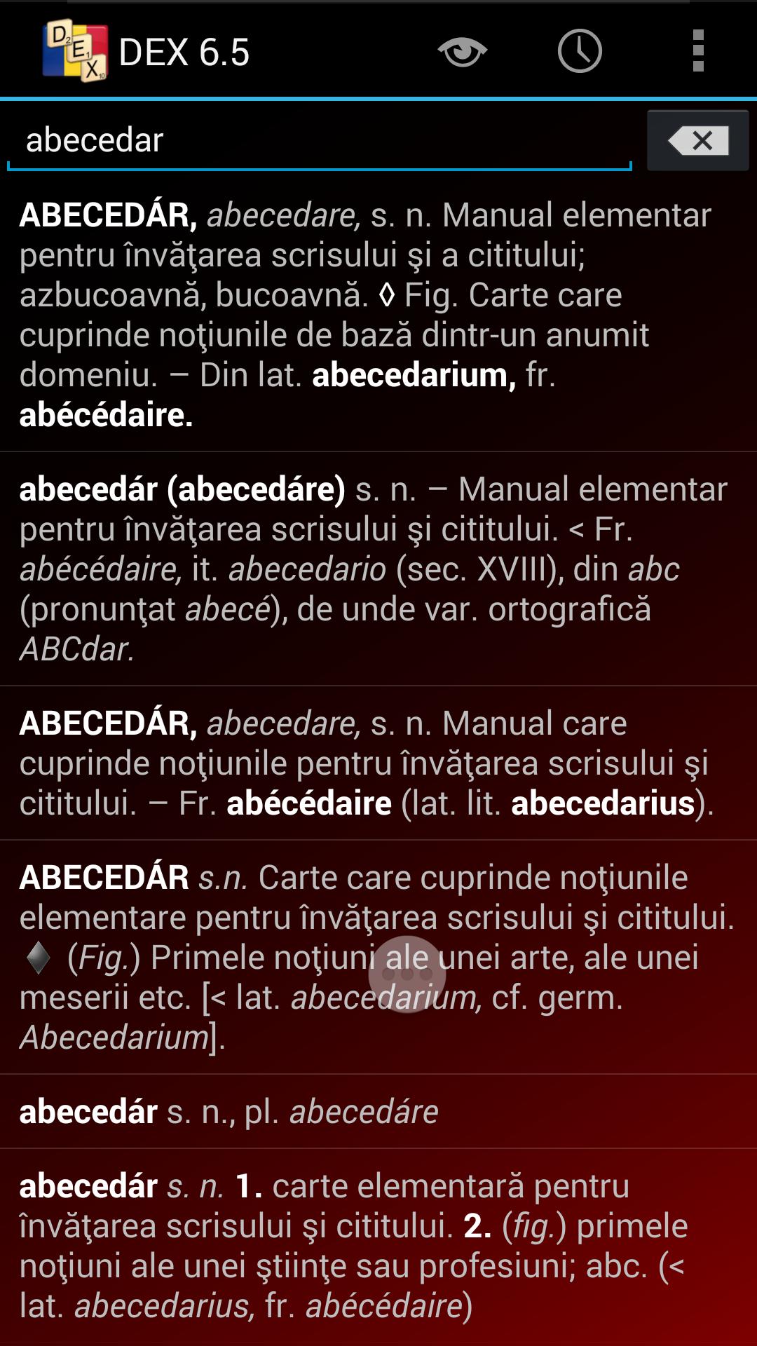 DEX aplicaţie Android