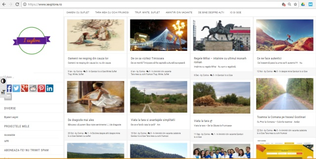 blog personal iexplore.ro