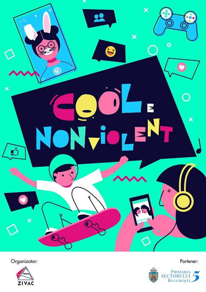 Cool e non violent – campanie impotriva violentei in scoli